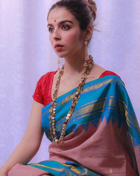 Gadhwal-silk-saree-with-rich-thik-border-5