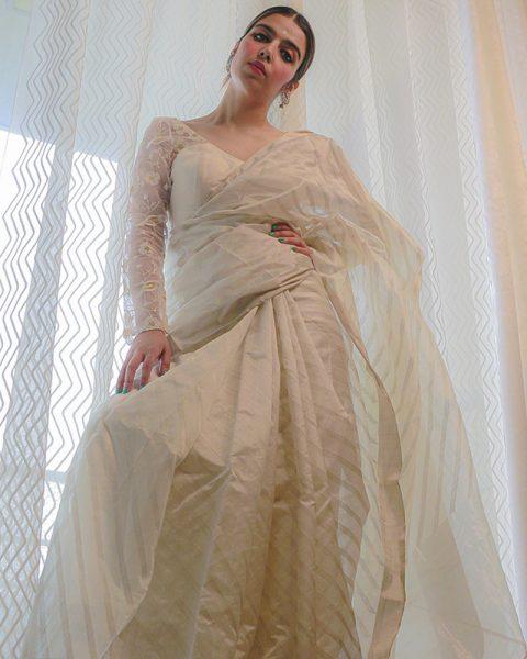 Tissue-saree-with-silver-zari-stripes-in-all-over-the-body-3